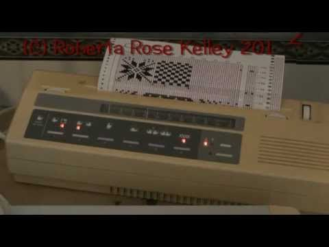 ▶ How to use the Studio/Silver Reed Electronic Card Reader - YouTube