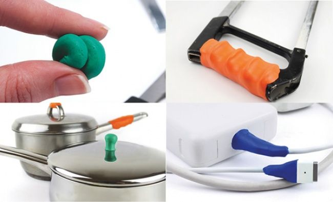 Like plasticine, this stuff takes any shape. Then it dries, hardens and remains stuck to any surface. It can therefore help to fix or improve a whole number of objects used around the house. 20gadgets which make life simpler