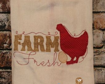 48 best Embroidery Designs: Kitchen Towels images on Pinterest ...
