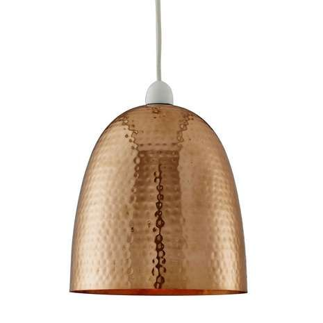 Featuring a hammered effect, this stylish round ceiling light pendant will add a sophisticated contemporary touch to your living room decor whilst providing a decorative light source.