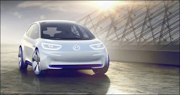 Volkswagen I.D. concept rivelata a Parigi: sul mercato dal 2020
