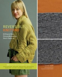 Reversible knitting, cool idea.