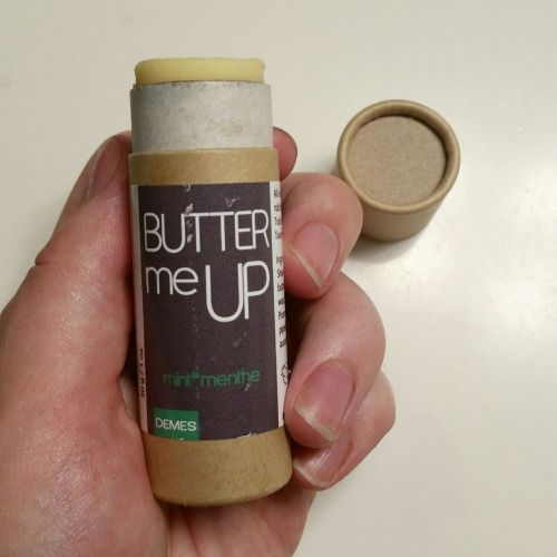 Butter Me Up solid moisturizer from Demes Natural in Mint smells amazing! It has a really fresh, minty scent! It comes in a super cute, convenient, and eco-friendly applicator tube. This products size and packaging makes it ideal for traveling or just tossing in your bag without having to worry about any product spilling! This product isn't just good for dry skin, but for your body as a whole and the environment as well! Cruelty Free Cosmetics