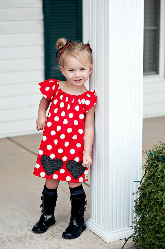 Black Hearts Valentine's Day Flutter Sleeve Dress - sizes newborn - Girls 7. 39.50, via Etsy.