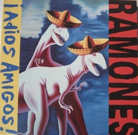"""Ramones """"¡Adios Amigos!"""" 1995"""