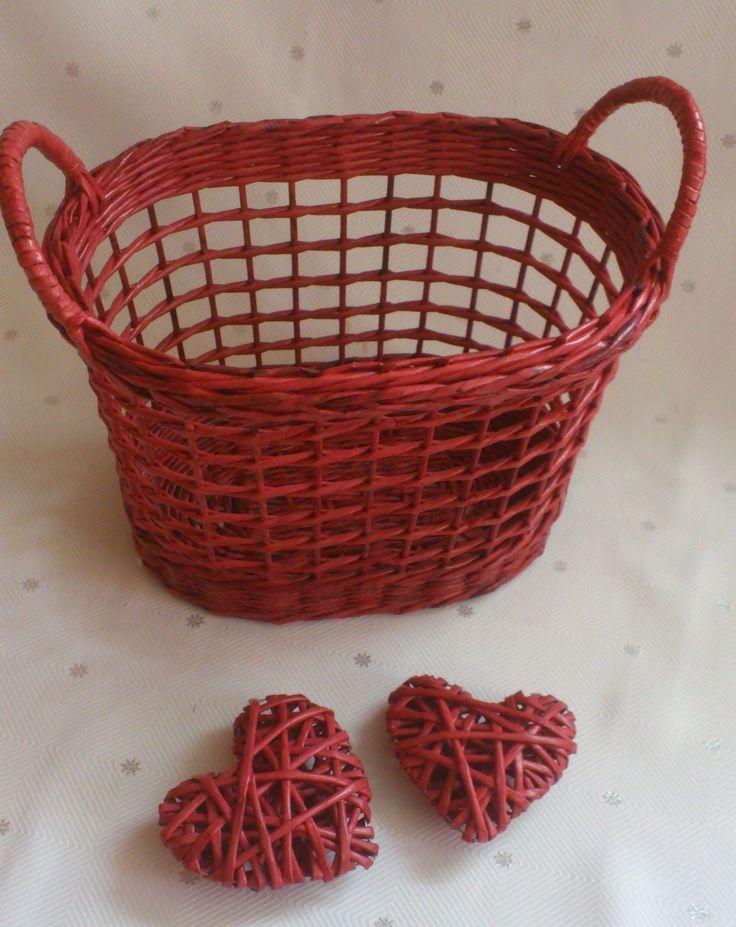 Košík mřížkový