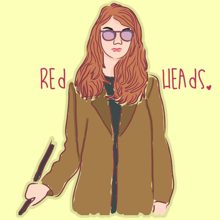 © 2015 | Made it for @redheads on Instagram, because I love they account.
