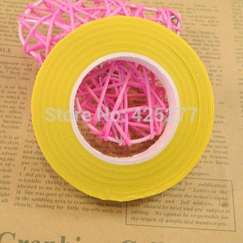 6pcs/lot Free shipping Wholesale yellow paper tape for nylon stocking flower and butterfly accessories DIY 004006006 #Affiliate