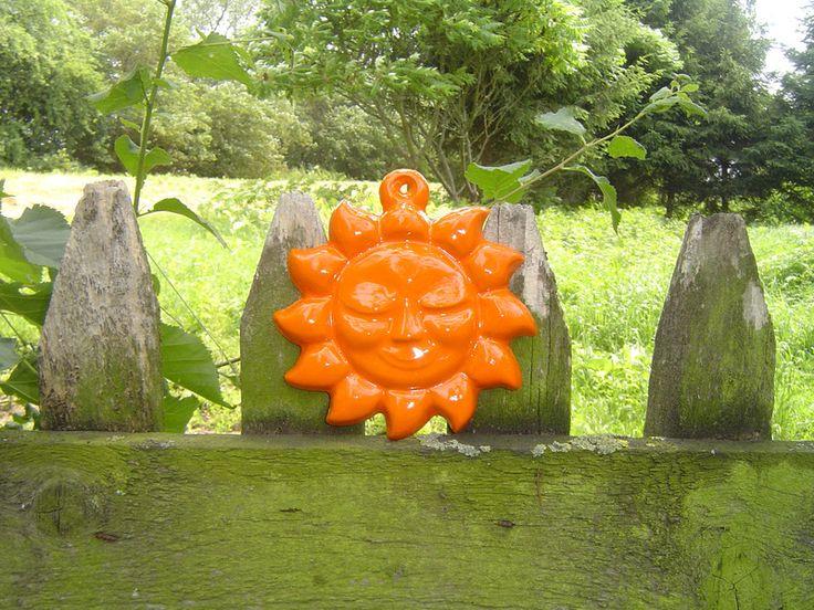 Pomarańczowe słonko - Lady-Kate23 - Ozdoby na ścianę
