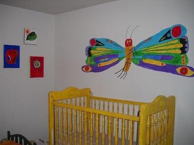 Very Hungry Caterpillar Nursery Wall Mural Part 36