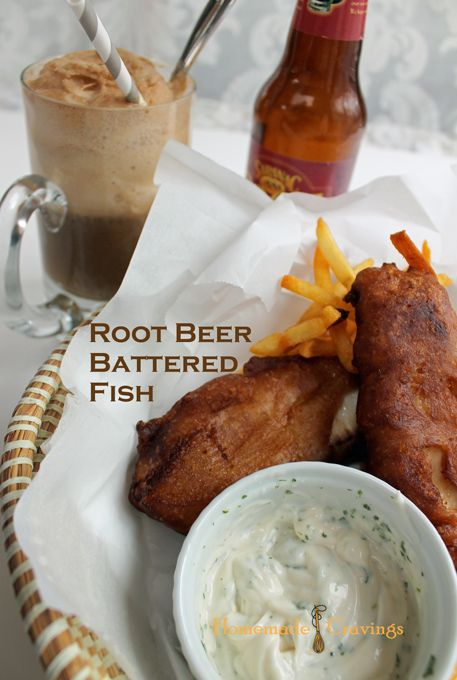 Root beer battered fish sandy pinterest homemade by for Beer battered fish