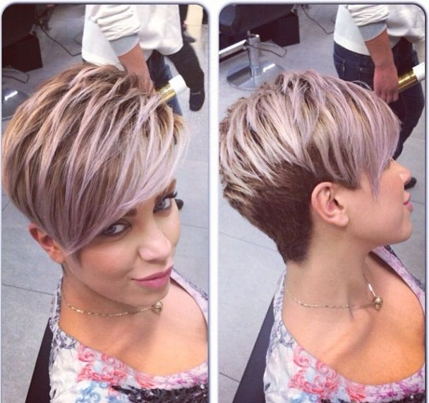 Gorgeous pixie and color