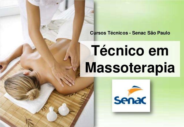Técnico em Massoterapia