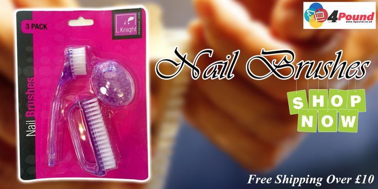 Buy this amazing Pink and white colored Nail Brushes at Our store.Get 50% Discount