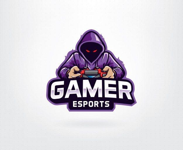 Logotipo Do Jogador Roxo In 2020 Logo Design Art Retro Logos Purple Logo