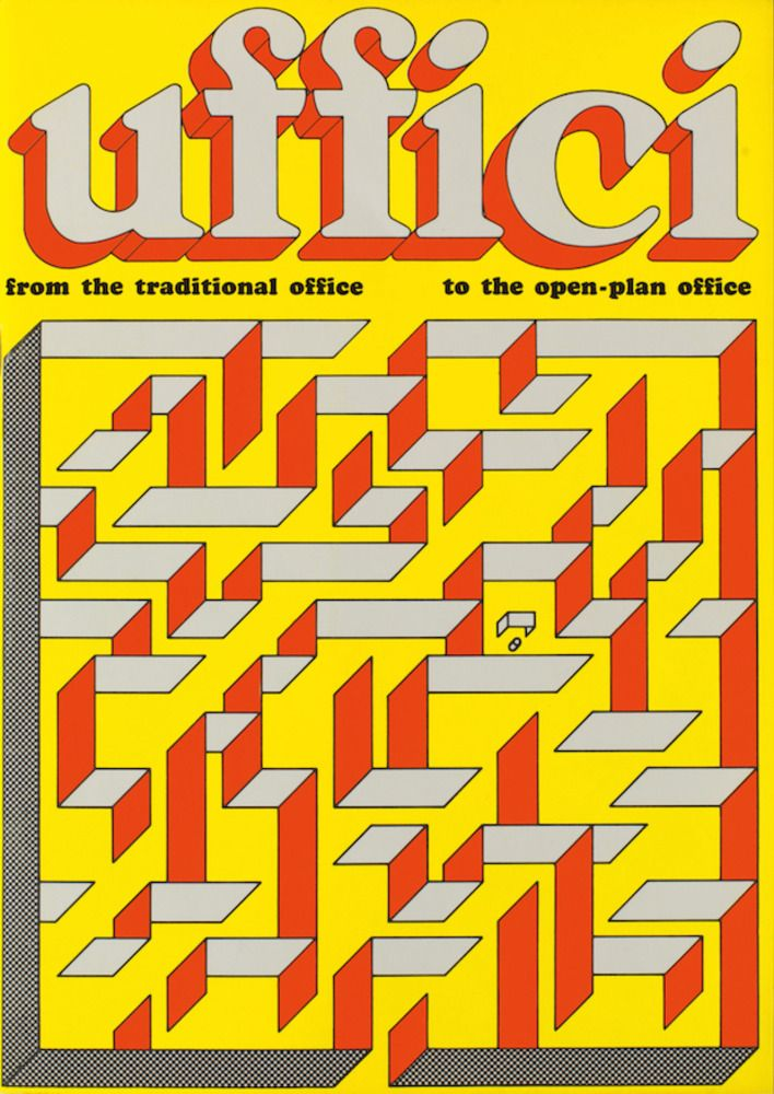 Uffici magazine, 1973, © Ettore Sottsass and Barbara Radice, courtesy Archivio Ettore Sottsass