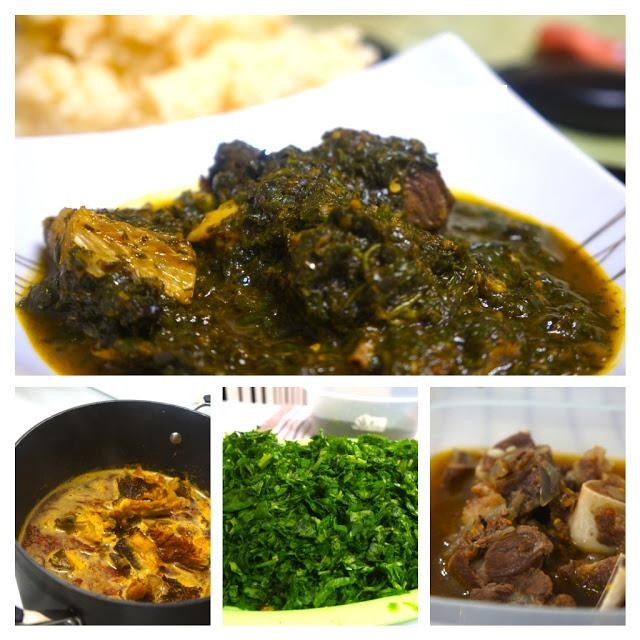 188 best nigerian food images on pinterest african food recipes afang soup originated from southern nigeria like most soups from the region its a earthy broth of meat and fish with vegetable simmered in forumfinder Choice Image