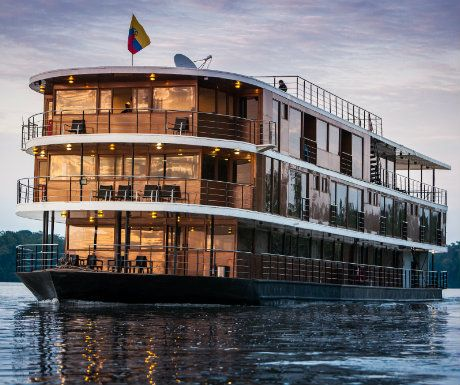 Luxury Amazon Cruise - 5 South America Trips Every Luxury Traveller Should Take