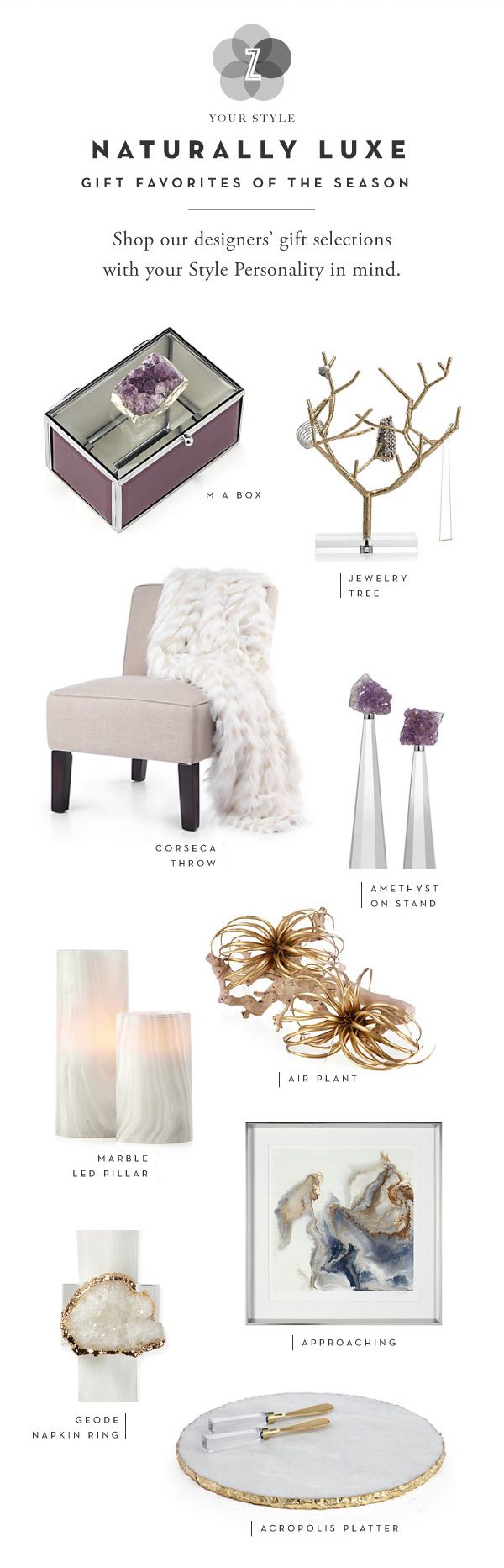 Shop top gift picks for YOUR Stye Personality on zgallerie.com!