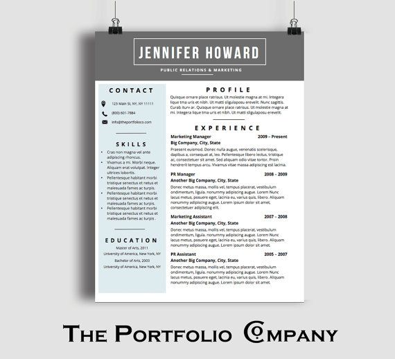 15 best resume formats images on pinterest cv template resume