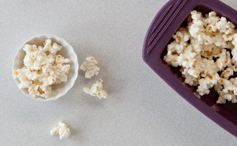 So excited!!! I have this unbelievable steamer (easy to cook two person meals) and now popcorn!!!!  Epicure's Two-minute Steamer Popcorn