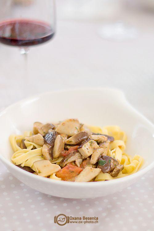 """Паста с белыми грибами: очень """"вкусный"""" рецепт"""