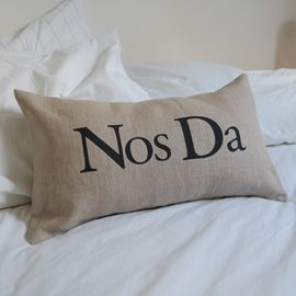 Nos Da cushion  (Goodnight cushion) #bedroom