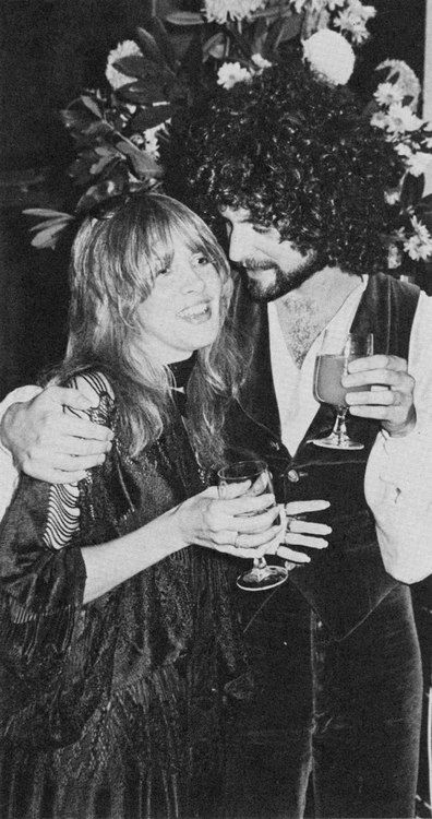 Fleetwood Mac 1976 Stevie Nicks Lindsey Buckingham goldduststevie scan