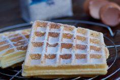 Une recette inratable de Pâte à gaufres express Thermomix sur Yummix • Le blog culinaire dédié au Thermomix !