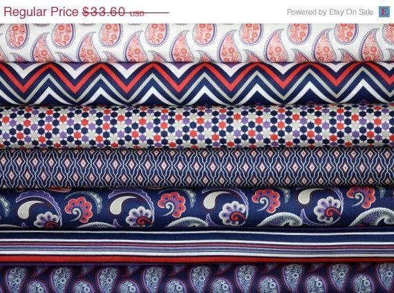 ON SALE Jackie Savage McFee fabric bundle by fivemonkeyfabrics, $28.56