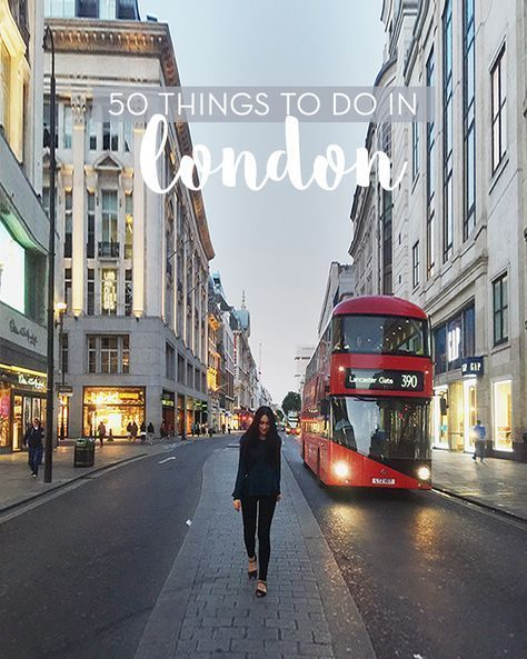 50 Things You Must Do When Visiting London | Sunday Chapter | www.traveling-cat...