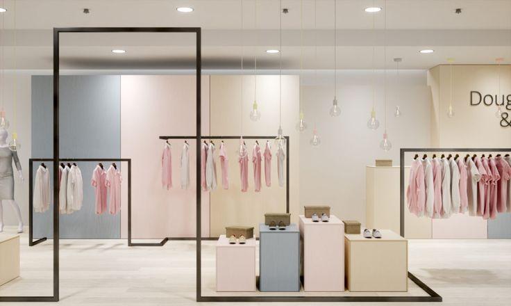 showroom interior visualization / DAAKO studio