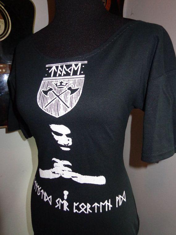 c3aa83da Taake ladies DIY band shirt boatneck tunic heavy metal black metal band  shirt