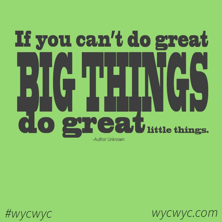 ...because ALL things matter!#wycwyc