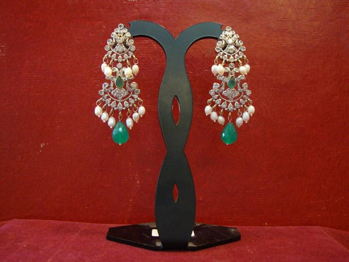 My favorite earrings.  Courtesy: Chaahat jewellery (www.facebook.com/pages/Chaahat-jewellery)