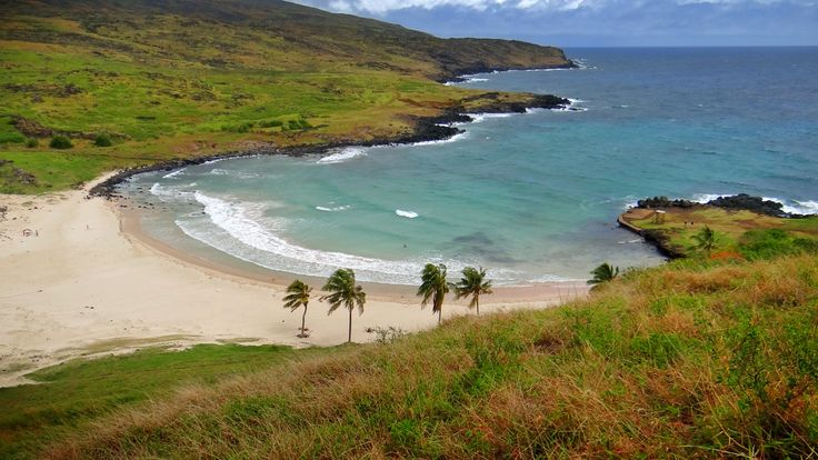 Anakena - Easter Island - Rapa Nui - Isla de Pascua