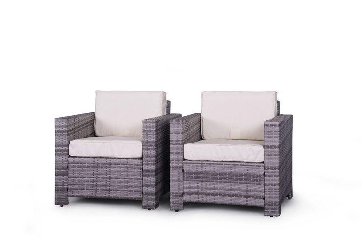 Miami Beach Collection - Patio Club Chairs
