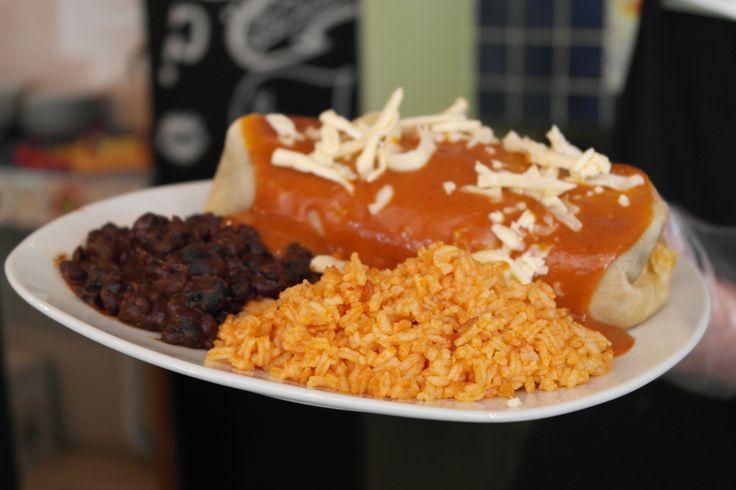 Gringos Burrito - yummy!!! :)   Jó étvágyat!