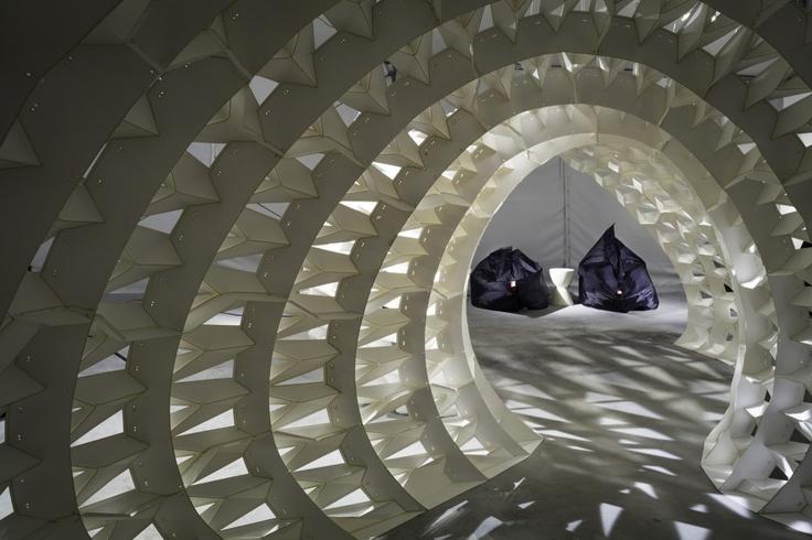 Instalación 'FXFOWLE Lounge' / FXFOWLE Architects