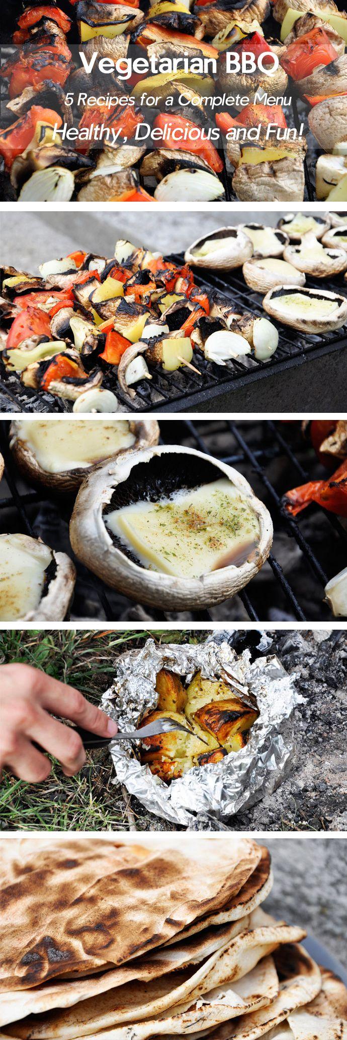 Vegetarian BBQ: Veggie Skewers
