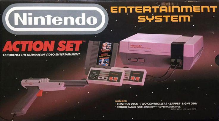 43 best nintendo nes jeux vid o consoles accessoires images on pinterest nintendo - Console de jeux a vendre ...