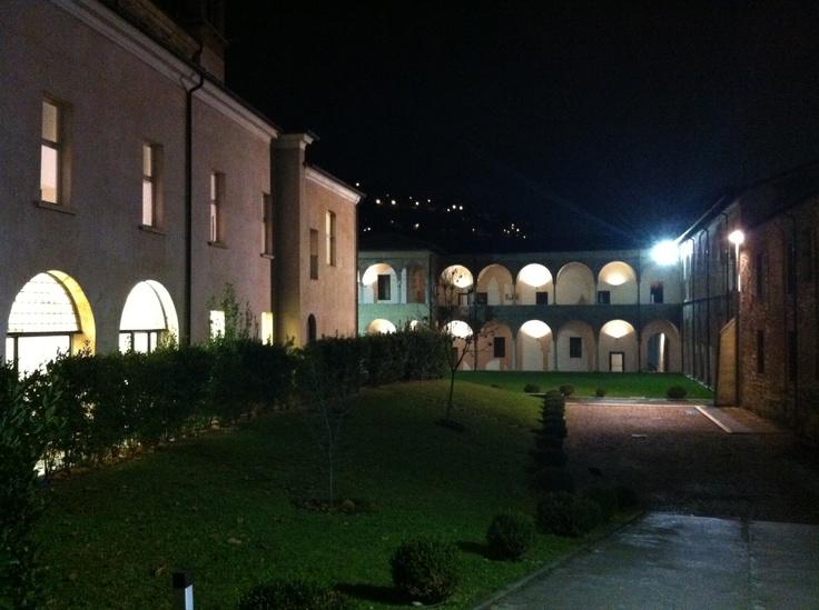 Santa Giulia monastery - San Salvatore's cloister. So beautiful!