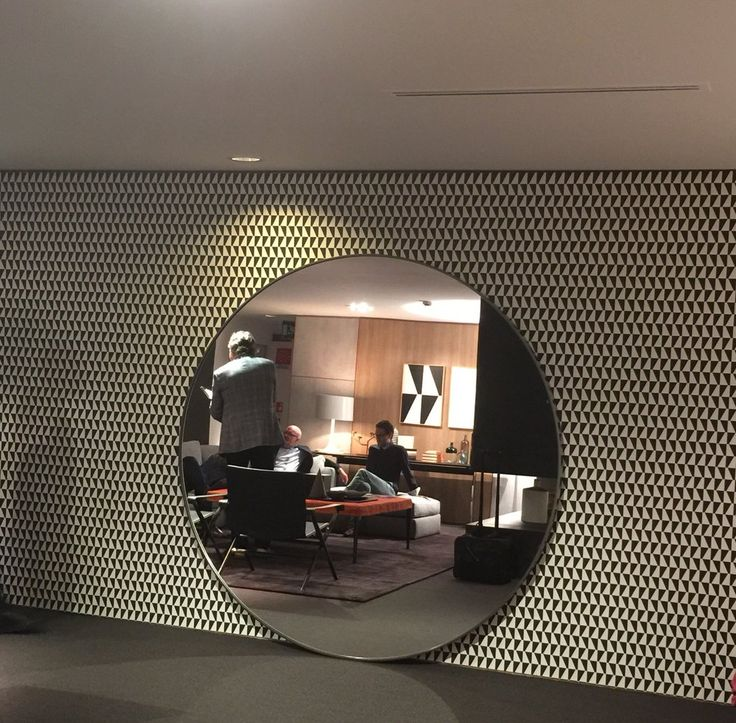 """Trapez"" wallpaper by Borastapeter. An Arne Jacobsen design taken from the Scandinavian Designers collection."