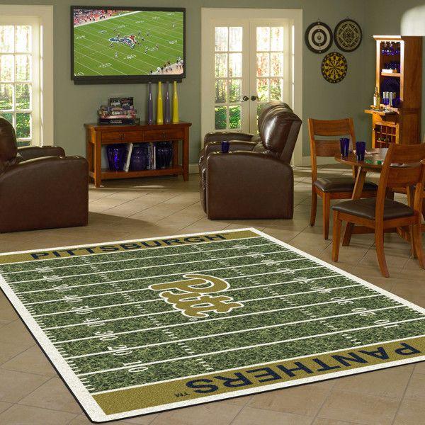 Pittsburgh Rug University Football Field