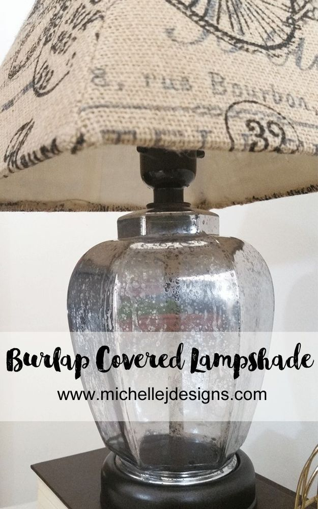 I had a couple of lampshades that really needed a new look.  One was from a garage sale and the other was one I have had for a long time.  The lamps were both g…