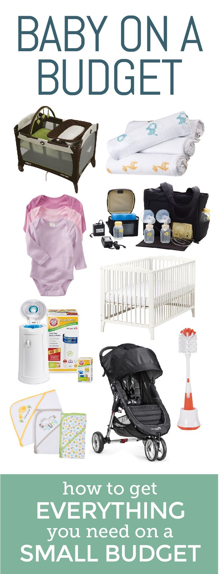 You don't need to break the bank to bring home a new baby! This is the perfect registry to get everything you need without breaking the bank.
