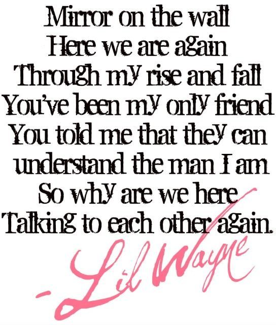 lil wayne how to love meaning of lyrics