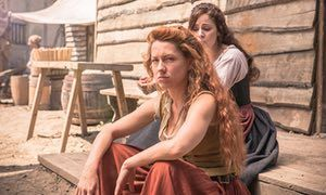 'A man will hang for rape!' … the women of Jamestown in 1619 slap men's faces, joke about their sexual failures and campaign for tougher sentencing for sex criminals.