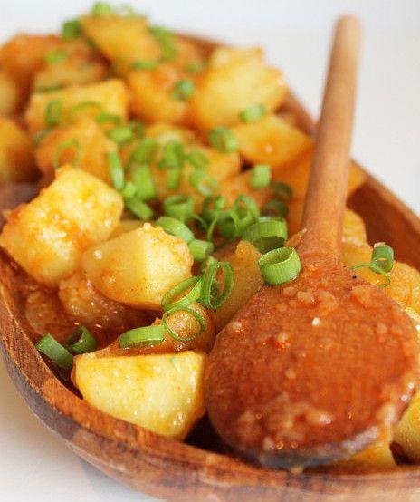 Тушеная картошка с паприкой