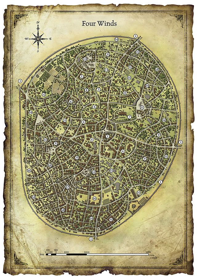 Du0026D city tabletop map 349 best maps